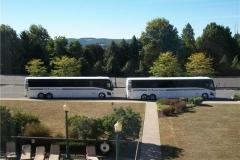 MCI 56 Passenger Buses